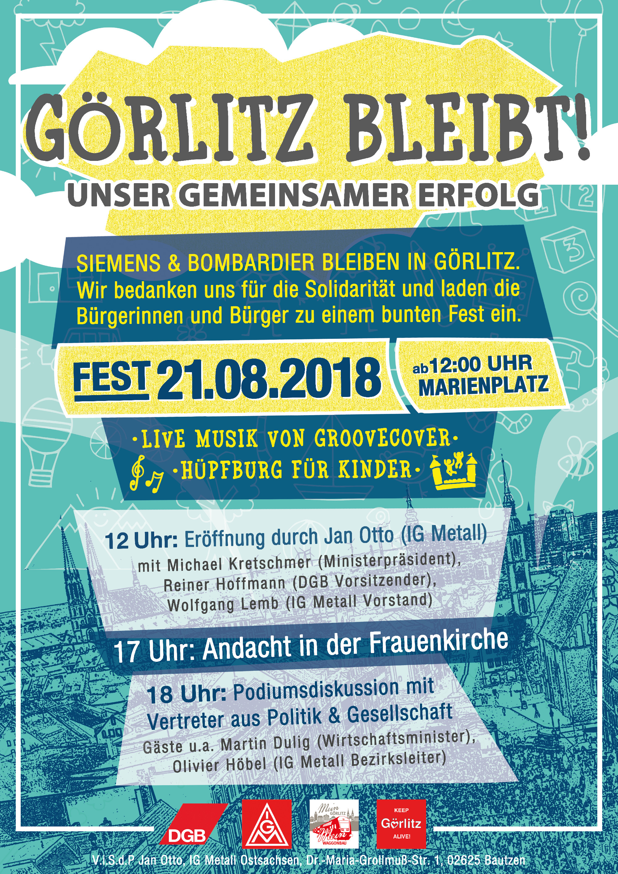 Plakat für Görlitz-Fest