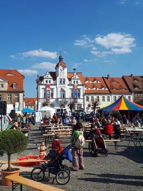 Das Rathaus von Ostritz