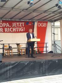 Hauptredner Jürgen Kerner