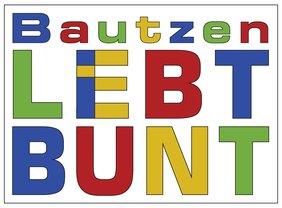 Logo Bautzen lebt bunt
