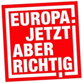 Das logo zur Europawahl