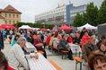 Der 1. Mai in Bautzen auf dem Kornmarkt