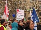 TVL Kundgebung/Warnstreik Dresden 11.3.15